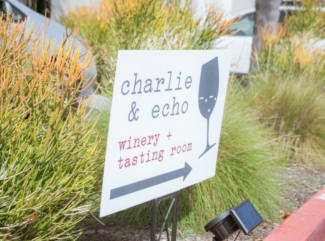 Charlie and Echo Lawn Sign
