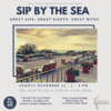 Sip By The Sea Poster