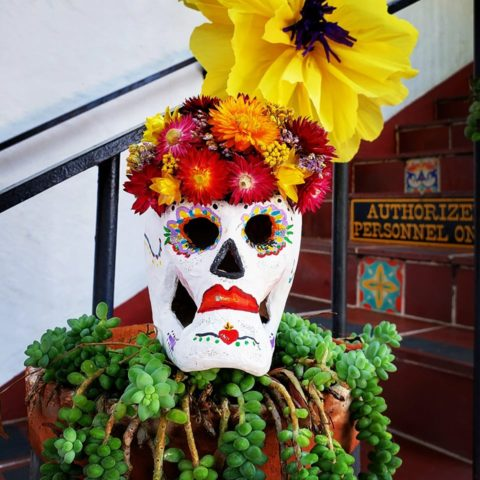 Example of a Sugar Skull
