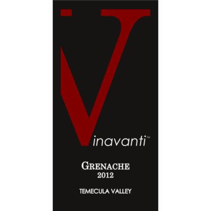 2012 Grenache - Front Label