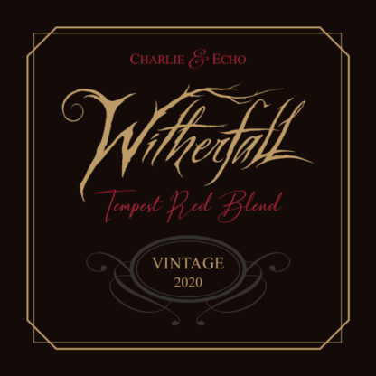 2020 Witherfall Tempest Red Blend - Front Label