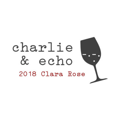 2018 Clara Rose - Front Label