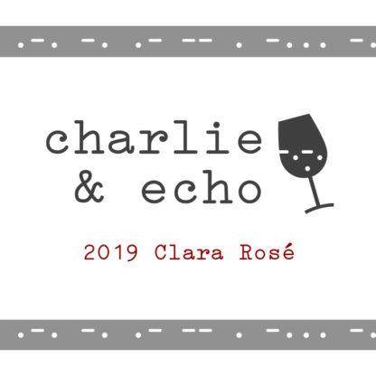 2019 Clara Rosé Label - Center