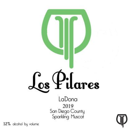 Los Pilares 2019 LaDona - Front Label