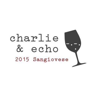 2015 Sangiovese Front Label
