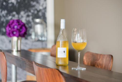 Bottle in Tasting Room
