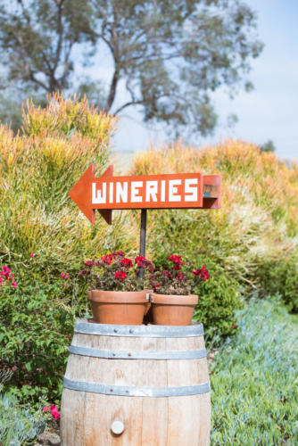 Wineries Sign